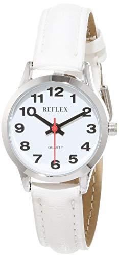 Reflex Mixte Analogique Classique Quartz Montre avec Bracelet en Cuir 101306LT